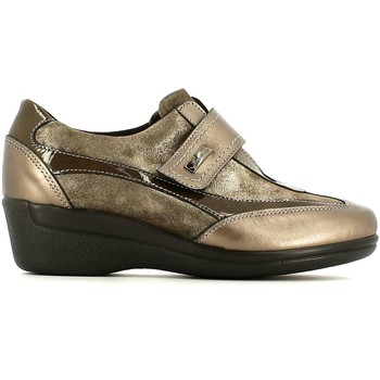 Shoes Women Walking shoes Susimoda 8424 Scarpa velcro Women Peltro Peltro
