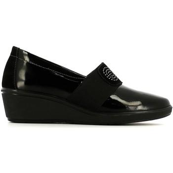 Shoes Women Loafers Susimoda 852068 Mocassins Women Nero