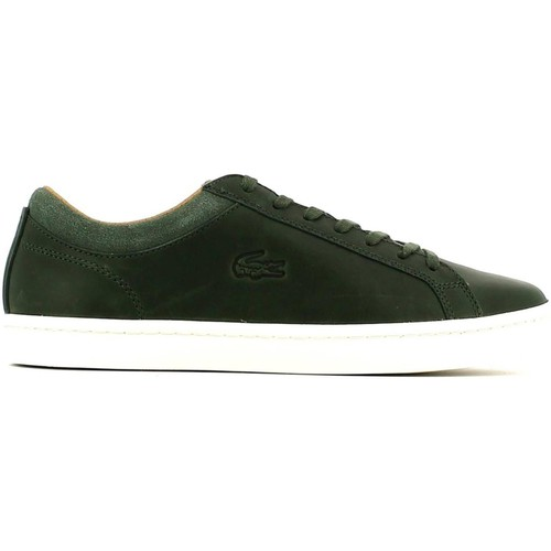 Shoes Men Low top trainers Lacoste 730SRM0027 Sneakers Man nd Brown
