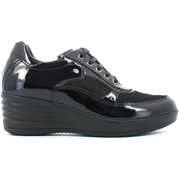 Shoes Women Derby Shoes Keys 8027 Sneakers Women Black Black
