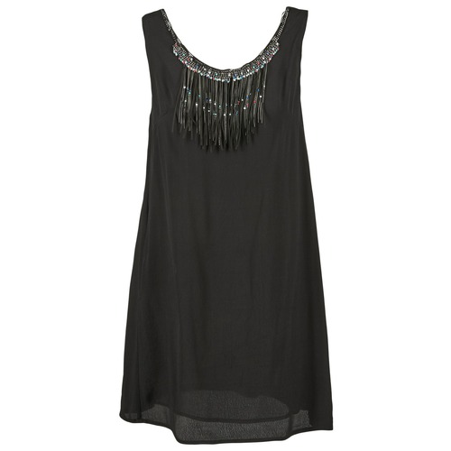 Clothing Women Short Dresses See U Soon OCHORIO Black