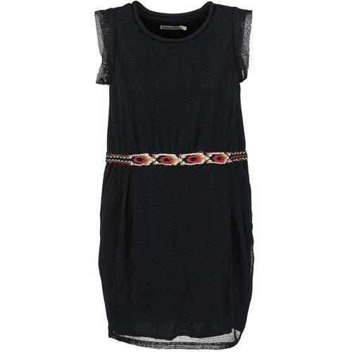 Clothing Women Short Dresses See U Soon MOREPEN Black
