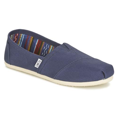 Shoes Women Slip-ons Toms CLASSICS Marine