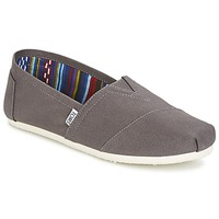 Shoes Men Slip-ons Toms CLASSICS Grey