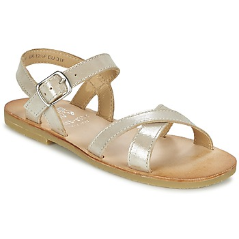 Shoes Girl Sandals Start Rite NICE II GOLD
