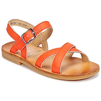 Shoes Girl Sandals Start Rite NICE II Orange