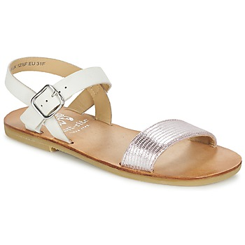 Shoes Girl Sandals Start Rite FLORA II White-pink