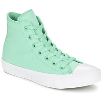 Shoes Hi top trainers Converse CHUCK TAYLOR All Star II NEON HI Green