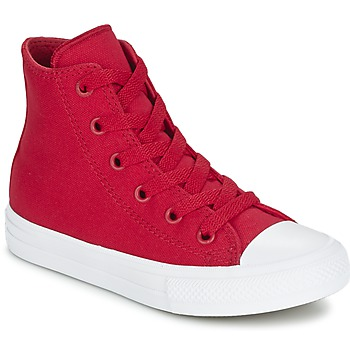 Shoes Children Hi top trainers Converse CHUCK TAYLOR All Star II HI Red