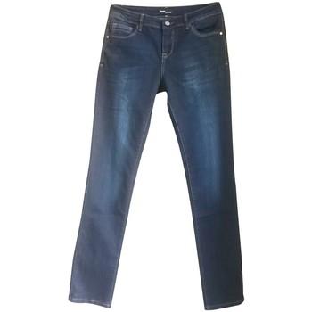 Clothing Women straight jeans Dress Code Jean 15HP097 bleu Blue