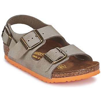 Shoes Boy Sandals Birkenstock MILANO Taupe