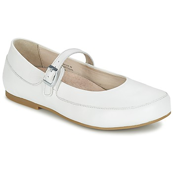 Shoes Women Flat shoes Birkenstock LISMORE White