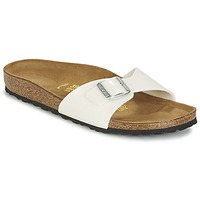Shoes Women Mules Birkenstock MADRID Galaxy White