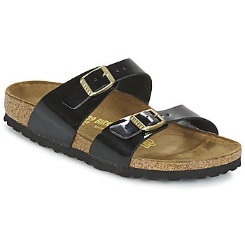 Shoes Women Mules Birkenstock SYDNEY Black / Varnish
