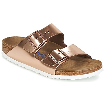 Shoes Women Mules Birkenstock ARIZONA COPPER