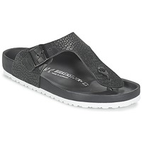 Shoes Men Flip flops Birkenstock RAMSES PREMIUM Black