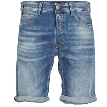Clothing Men Shorts / Bermudas Replay SHORT 901 Blue / 009