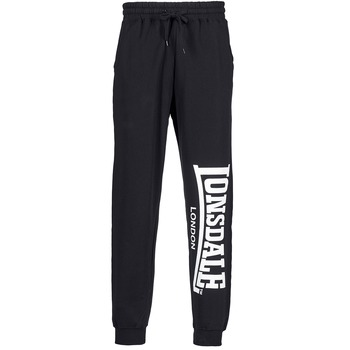 Clothing Men Tracksuit bottoms Lonsdale LARGE LOGO Black
