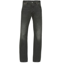 Clothing Men straight jeans Levi's 501  black / Range / P8013