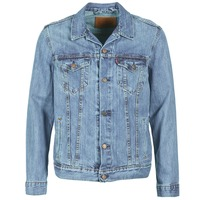 Clothing Men Denim jackets Levi's THE TRUCKER JACKET Icy / P4927