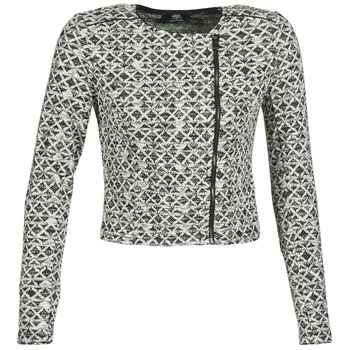 Clothing Women Jackets / Blazers Le Temps des Cerises KATHLEEN Black