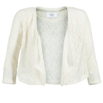 Clothing Women Jackets / Blazers Le Temps des Cerises ILONA White