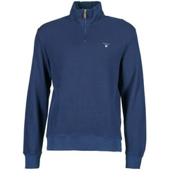 Clothing Men jumpers Gant HONEYCOMB SWEAT Marine