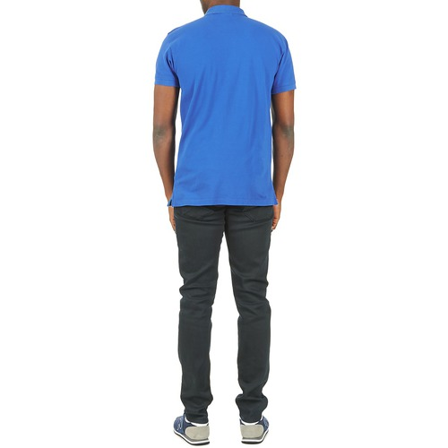 Gant Contrast Contrast Pique Collar Blue Gant Blue Gant Contrast Pique Collar 4zrwXqR4