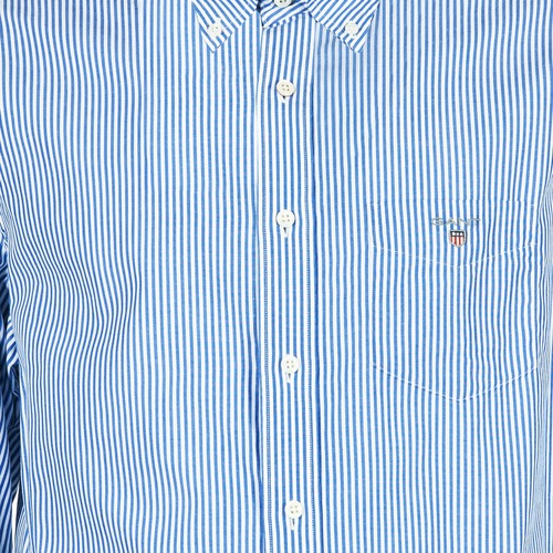 Poplin Blue Banker Stripe Gant The C561BfqnW