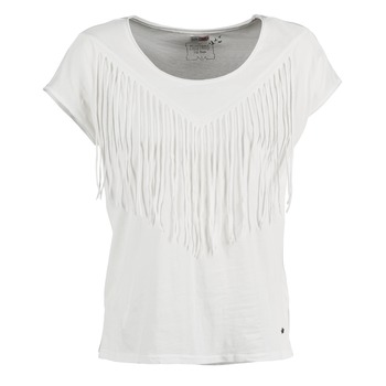 Clothing Women short-sleeved t-shirts Mustang FRINGE MARINE