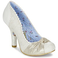 Shoes Women Heels Irregular Choice SMARTIE PANTS White