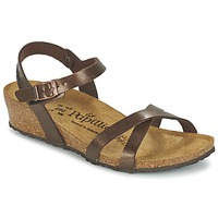 Shoes Women Sandals Papillio ALYSSA Brown / Mother-of-pearl