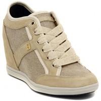 Shoes Women Low top trainers Tommy Hilfiger STELLA   BEIGE