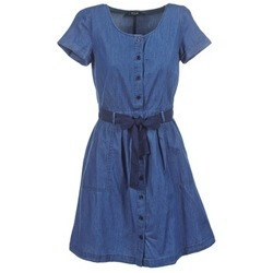 Clothing Women Short Dresses Vila VIKARI Blue / Medium