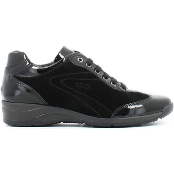 Shoes Women Derby Shoes Keys 8005 Sneakers Women Black Black