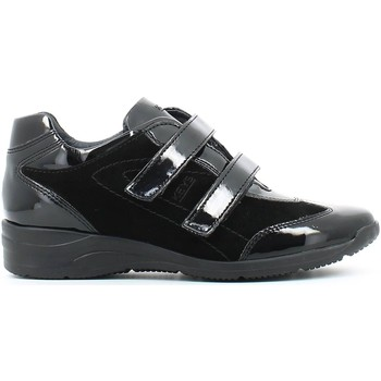 Shoes Women Low top trainers Keys 8009 Scarpa velcro Women Black Black