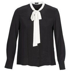 Clothing Women Shirts Joseph VICTOIRE Black