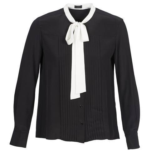 Clothing Women Shirts Joseph VICTOIRE Black