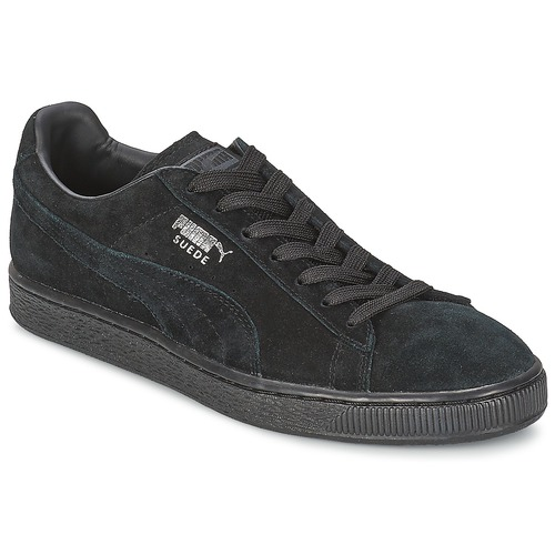 Shoes Men Low top trainers Puma SUEDE CLASSIC Black-Dark / SHADOW