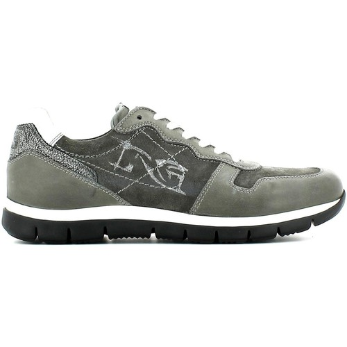 Shoes Men Low top trainers Nero Giardini A503720U Sneakers Man Grey Grey