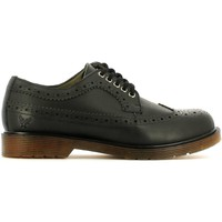 Shoes Men Walking shoes Avirex 152.M.229 30 Lace-up heels Man Black Black