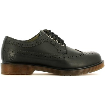 Shoes Men Walking shoes Avirex 152.M.229 30 Lace-up heels Man Nero