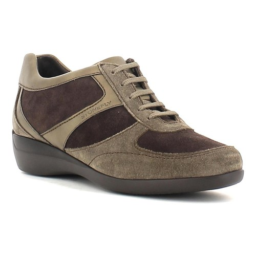 Shoes Women Derby Shoes Stonefly 103215 Sneakers Women Brown Brown