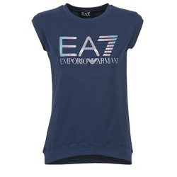 Clothing Women short-sleeved t-shirts Emporio Armani EA7 ANDROUL Marine