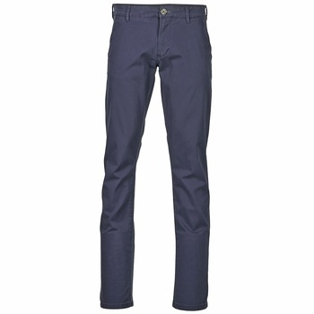 Clothing Men Chinos Selected THREE PARIS Marine
