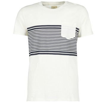 Clothing Men short-sleeved t-shirts Selected LIAM White