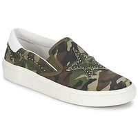 Shoes Women Slip ons Ash NIKITA Army / White