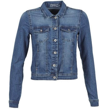 Clothing Women Denim jackets Only NEW WESTA Blue / MEDIUM