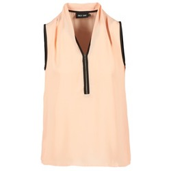 Clothing Women Tops / Blouses Only FIA ZIP Orange / Pastel / Black