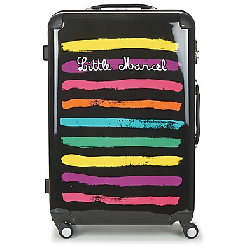 Bags Women Hard Suitcases Little Marcel MALTE-75 Black